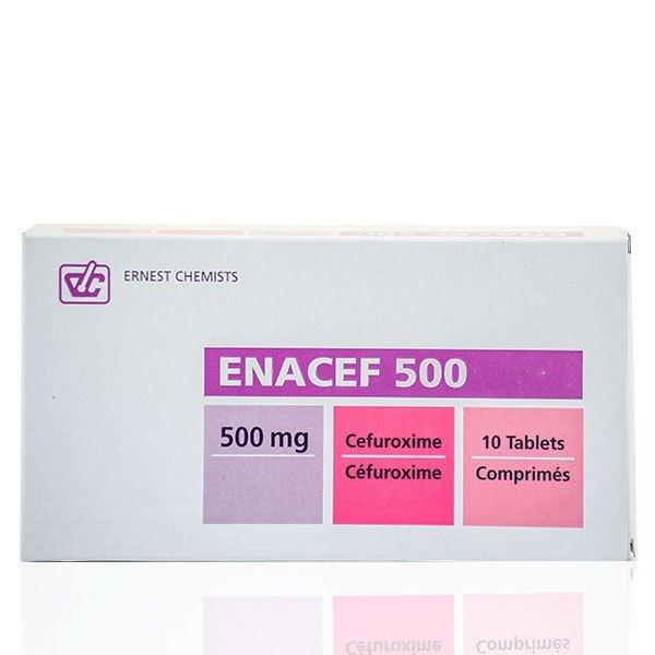 Enacef 500 Tablet Image