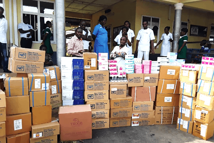 Ernest Chemists Ltd Supports Kwahu Government Hospital