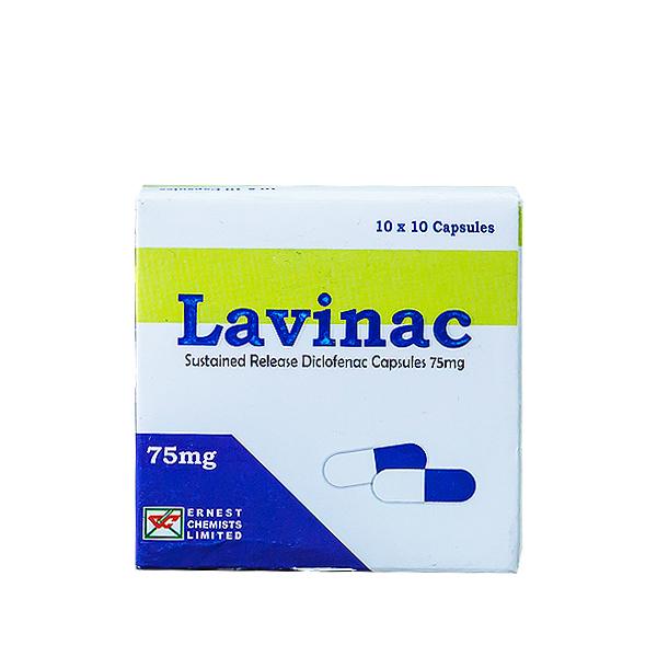 Lavinac Cap. 75mg (100)