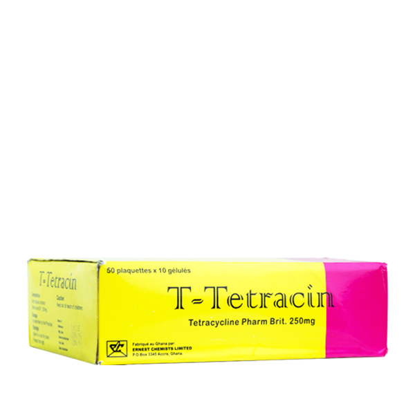T Tetracin Cap. 250mg Image