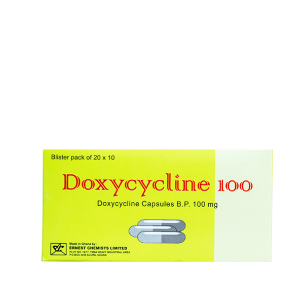 Doxycycline Cap. 100mg (200) Image